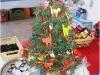 Alberino natalizio gattoso
